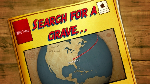 Will and Drew show Granny - and you - that searching for graves is easy with the help of the Spartanburg County Library.