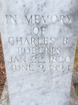 Father of Sarah B. Roberts Williams